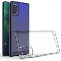 Samsung Galaxy A41 Szilikon Tok TPU Áttetsző