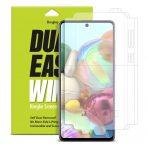 Samsung Galaxy A71 Ringke Dual Easy Wing 2x Kijelzővédő Fólia FULL DWSG0002