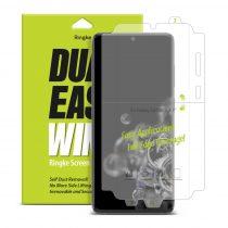 Samsung Galaxy S20 Ultra Ringke Dual Easy Wing 2x Kijelzővédő Fólia FULL DWSG0005