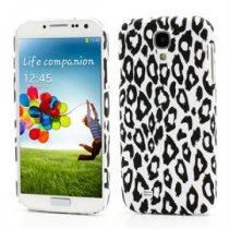Samsung Galaxy S4 Tok Leopárd Mintás Műanyag RMPACK LM01