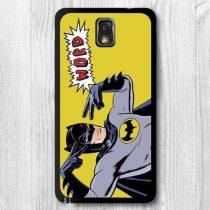 Samsung Galaxy Note 3 Tok Műanyag Mintás RMPACK (Batman Word)