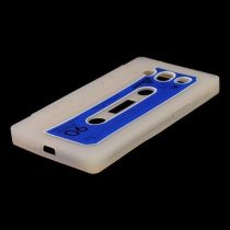 Samsung Galaxy S3 Szilikon Tok 3D Kazetta Fehér