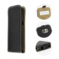 Sony Xperia XA1 Ultra Fekete Tok Flip RMPACK Flexi Fresh