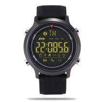 IP67 Okos Óra Smart Watch ZEBLAZA VIBE 5ATAM - Hívás és SMS értesítés - iOS és Android Kompatibilis Fekete
