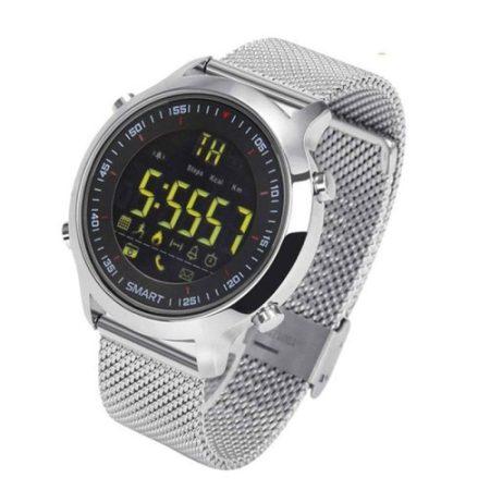 IP67 Okos Óra Smart Watch ZEBLAZA VIBE 5ATAM - Hívás és SMS értesítés - iOS és Android Kompatibilis Ezüst