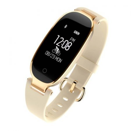 Smart Watch Okos Óra Woman Series WS01 S3 iOS - Android Kompatibilis - Hívás és SMS értesítés Arany