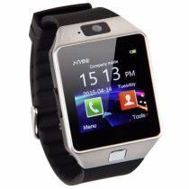 DZ09 Okosóra Smart Watch SIM - Bluetooth - Kamera - Facebook,Twitter,SMS értesítés Ezüst/Fekete