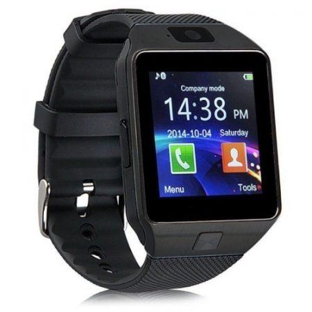 DZ09 Okosóra Smart Watch SIM - Bluetooth - Kamera - Facebook,Twitter,SMS értesítés Fekete