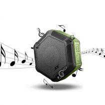 Zenelejátszó - Hangszóró HEXAGON Shape IP65 Bluetooth Ütésálló Zöld