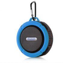 Zenelejátszó - Hordozható Hangszóró C6 IP65 Bluetooth Kék