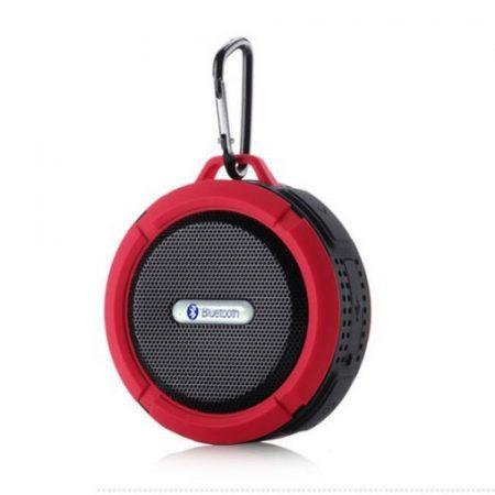 Zenelejátszó - Hordozható Hangszóró C6 IP65 Bluetooth Piros