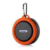 Zenelejátszó - Hordozható Hangszóró C6 IP65 Bluetooth Narancssárga