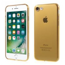 iPhone 7 8 Tok Szilikon TPU Fényes - Glossy Arany