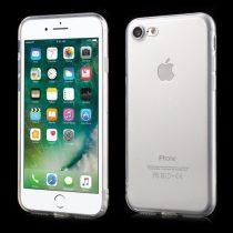 iPhone 7 8 Tok Szilikon TPU Fényes - Glossy Áttetsző