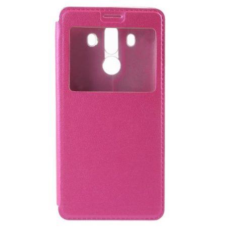 Huawei Mate 10 Pro Ablakos Tok View Window Style Pink