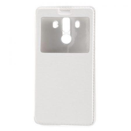 Huawei Mate 10 Pro Ablakos Tok View Window Style Fehér