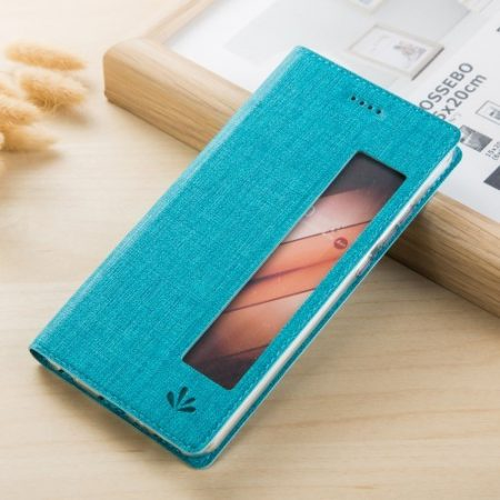 Huawei Mate 10 Pro Tok Notesz Értesítési Ablakos - View Window Kék
