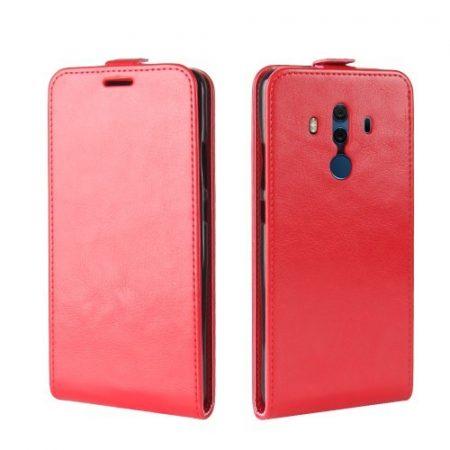 Huawei Mate 10 Pro Flip Tok Mágneses Piros