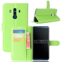 Huawei Mate 10 Pro Notesz Tok Bankkártyatartóval Business Series Zöld