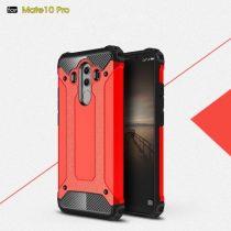 Huawei Mate 10 Pro Tok Ütésálló Armor 2in1 Hybrid Piros