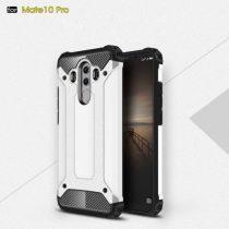Huawei Mate 10 Pro Tok Ütésálló Armor 2in1 Hybrid Fehér