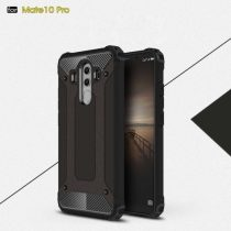 Huawei Mate 10 Pro Tok Ütésálló Armor 2in1 Hybrid Fekete