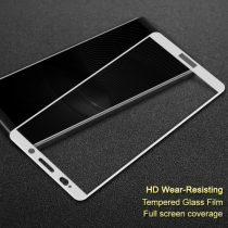 Huawei Mate 10 Pro Képernyővédő Üveg - Tempered Glass IMAK Full Sizer 3D Fehér