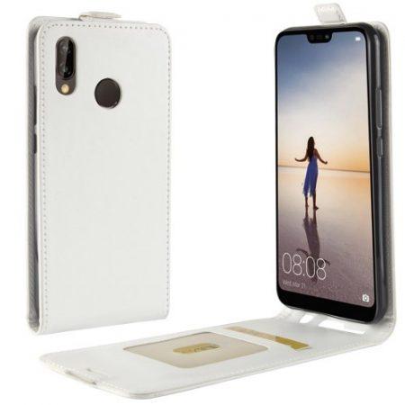 Huawei P20 Lite Flip Tok Mágneses Fehér