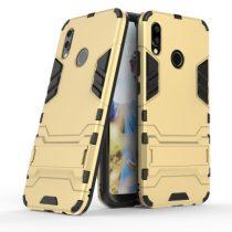 Huawei P20 Lite Ütésálló Tok Guard 2in1 Kitámasztható Arany