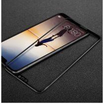 Huawei P20 Lite Tempered Glass IMAK Képernyővédő Üveg FULL 3D Fekete