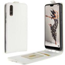Huawei P20 Flip Tok Mágneses Fehér