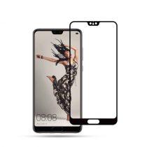 Huawei P20 Képernyővédő Üveg - Tempered Glass MOCOLO Fekete
