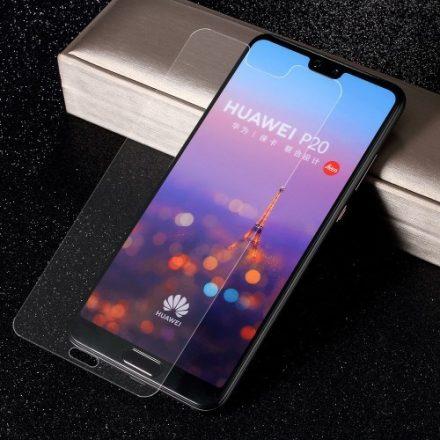 Huawei P20 Pro Képernyővédő Üveg - Tempered Glass 3D FULL - Áttetsző