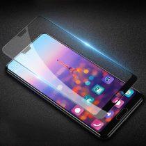 Huawei P20 Pro Kijelzővédő Üveg Tempered Glass - FullSize Áttetsző