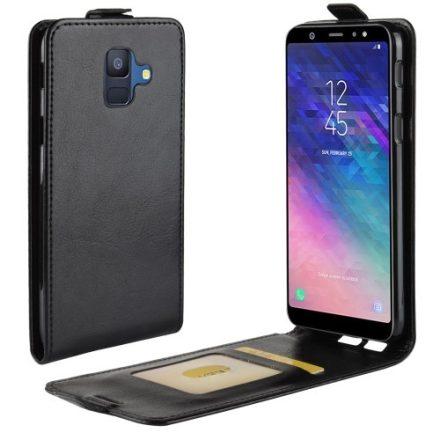 Samsung Galaxy A6 (2018) Flip Tok Mágneses Fekete
