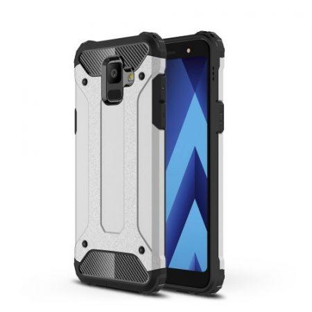 Samsung Galaxy A6 (2018) Hybrid Armor Tok Ütésálló 2in1 Guard Series Ezüst