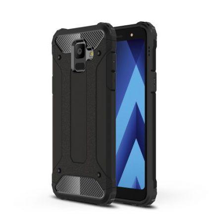 Samsung Galaxy A6 (2018) Hybrid Armor Tok Ütésálló 2in1 Guard Series Fekete