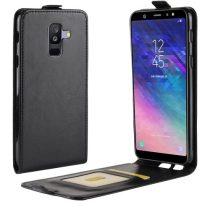 Samsung Galaxy A6+ (2018) Flip Tok Mágneses Fekete