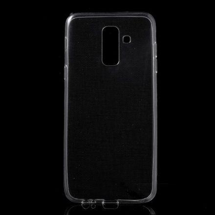 Samsung Galaxy A6+ (2018) Ultravékony Szilikon Tok TPU Áttetsző