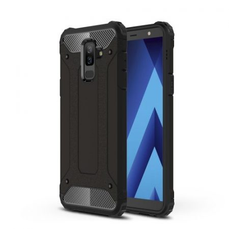 Samsung Galaxy A6+ (2018) Ütésálló Armor Tok Guard Series 2in1 Fekete