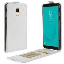 Samsung Galaxy J6 (2018) Flip Tok Mágneses Fehér