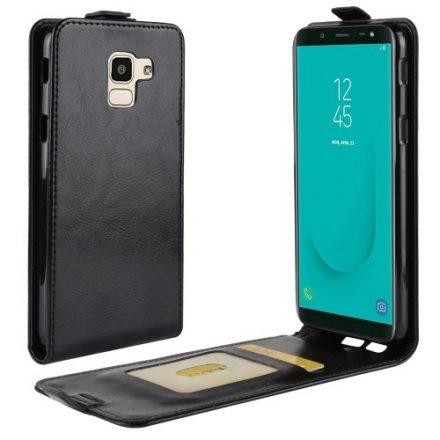 Samsung Galaxy J6 (2018) Flip Tok Mágneses Fekete
