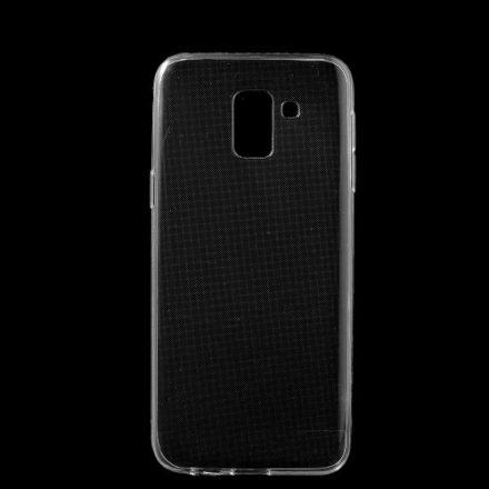 Samsung Galaxy J6 (2018) TPU Szilikon Tok Áttetsző