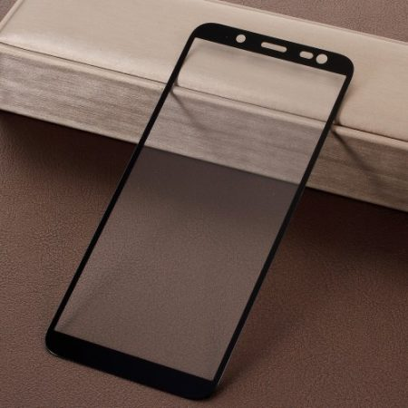 Samsung Galaxy J6 (2018) Tempered Glass Kijelzővédő Üveg Full - 5D - Fekete