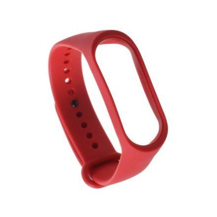 Óraszíj - Pótszíj Xiaomi Mi Band 3 -RMPACK- Style Piros