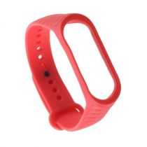 Pótszíj Xiaomi Mi Band 3 Óraszíj - RMPACK - Rhombus Style Piros