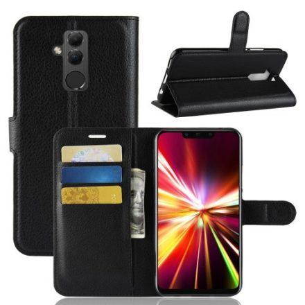Huawei Mate 20 Lite Notesz Tok Business Series Kitámasztható - Bankkártyatartóval Fekete