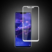Huawei Mate 20 Lite Tempered Glass - Képernyővédő Üveg - FullSize- Mocolo Fehér