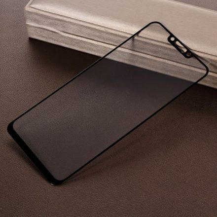 Huawei Mate 20 Lite Kijelzővédő Üveg - Tempered Glass Silk Fekete