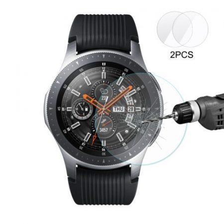 Samsung Galaxy Watch 46mm Képernyővédő Üveg 2.15D 9H 0.2mm HAT PRINCE 2db